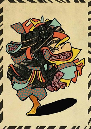 Image of 'Homage to Kuniyoshi' // Giclee print