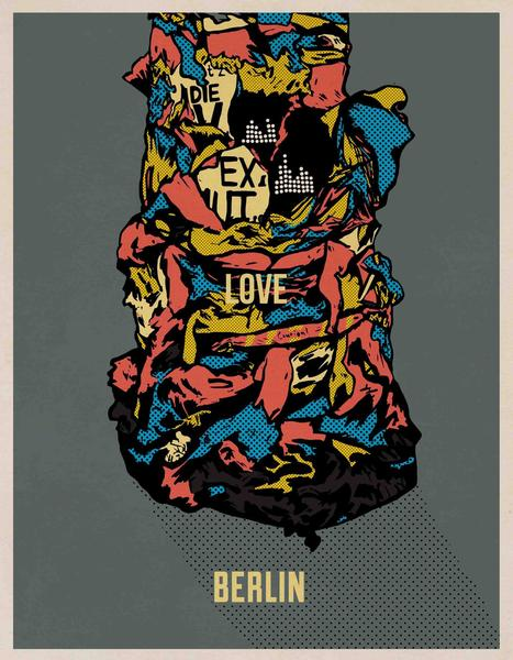 Image of 'Love Berlin' // Giclee print