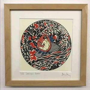 Image of 'Odalisque Geisha' // Giclee print