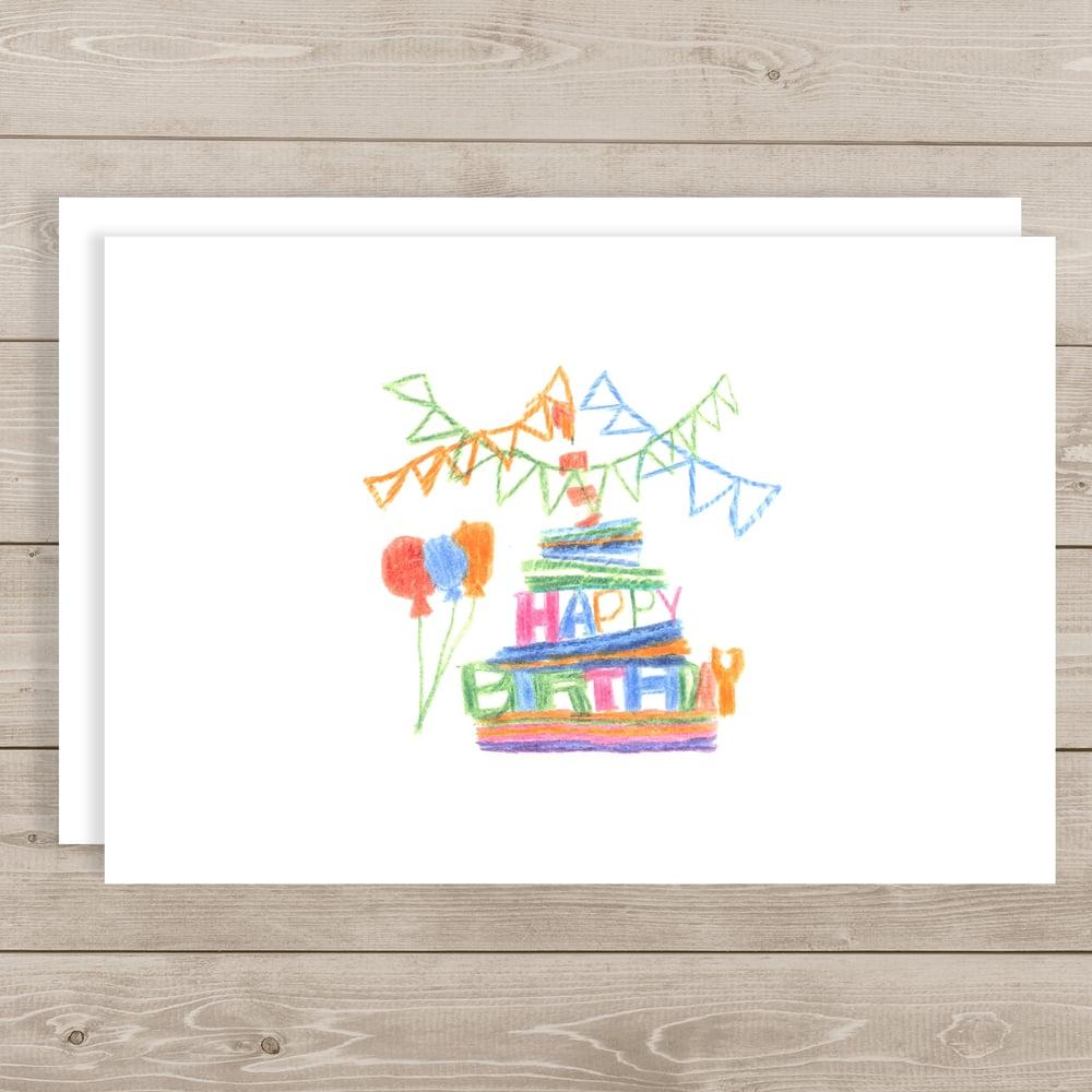 "Image of Happy Birthday <br> ""Best Wishes"""