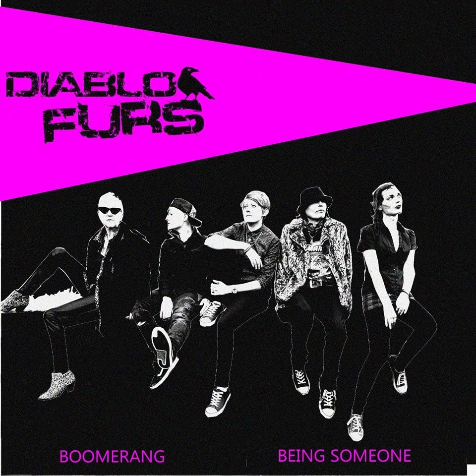 Image of Diablo furs/Done lying down split record pre order version of 89 copies