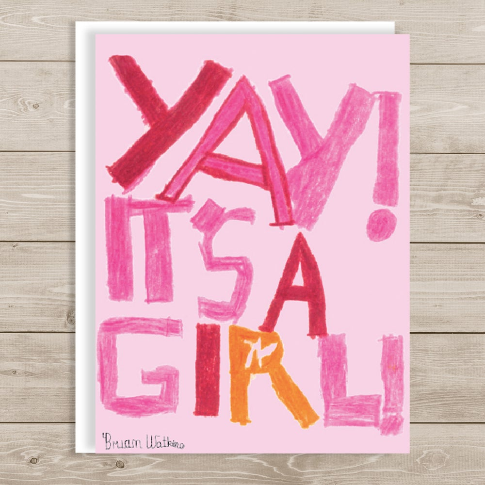 Image of Baby Girl birth announcements