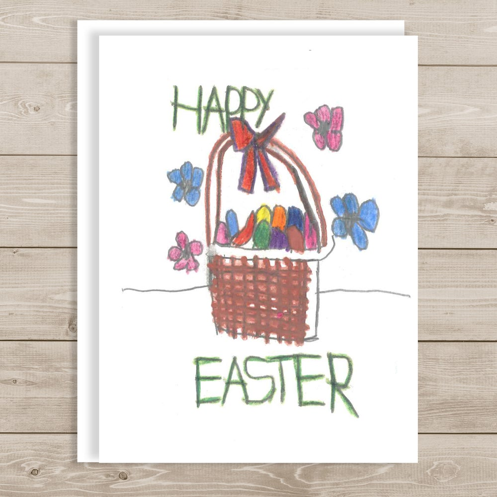 Image of Happy Easter -Blessed and Joyous Holiday Card