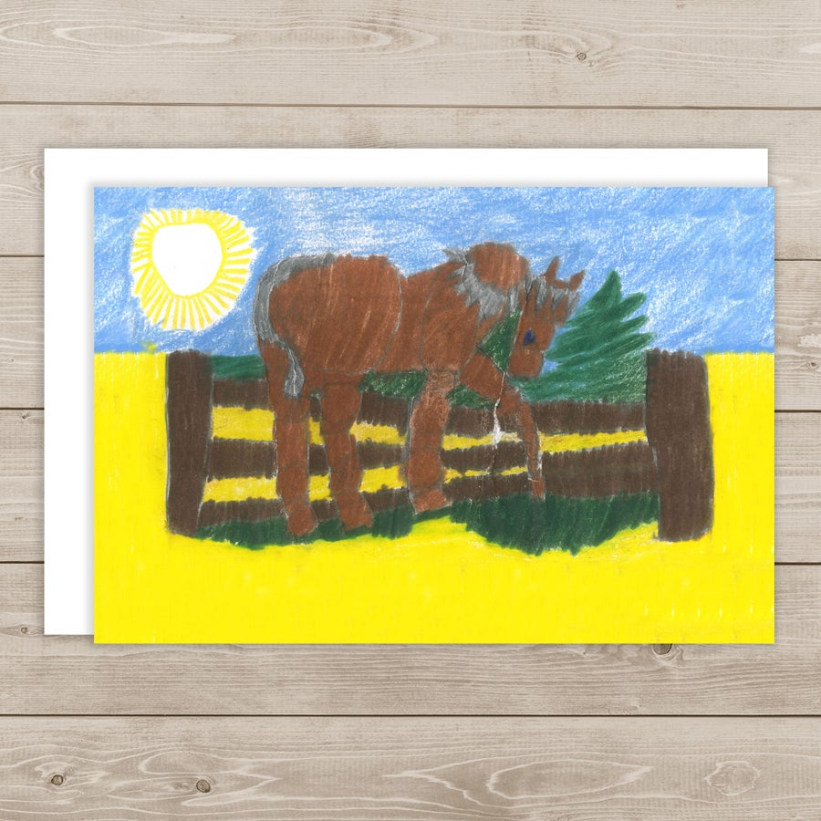 Image of Horse in the Sun