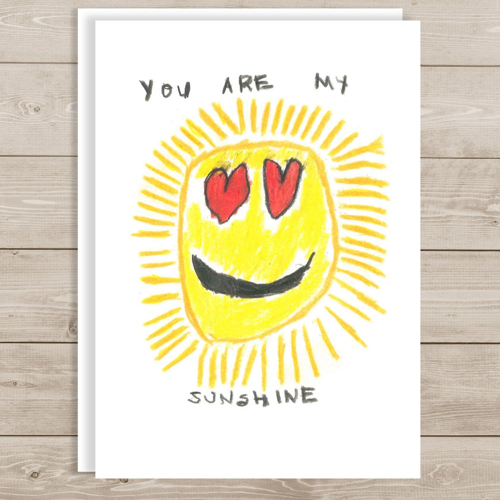 Image of You Are My Sunshine Note Cards