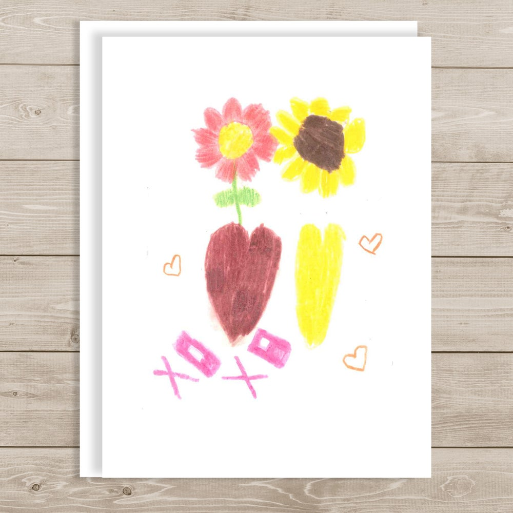 Image of I Love You Note Card