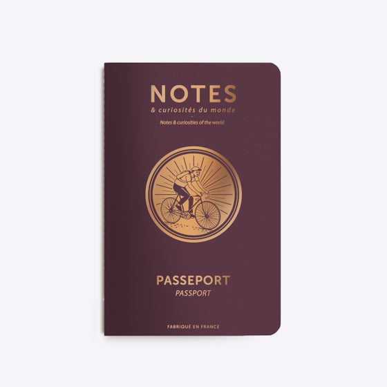 Image of CARNET COUSU PASSEPORT CYCLE