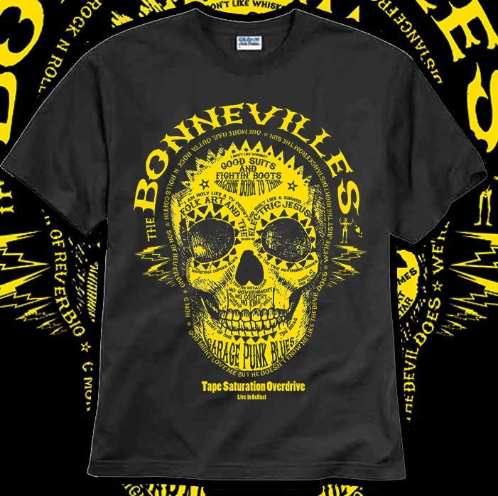 Image of Classic Skullface T shirt