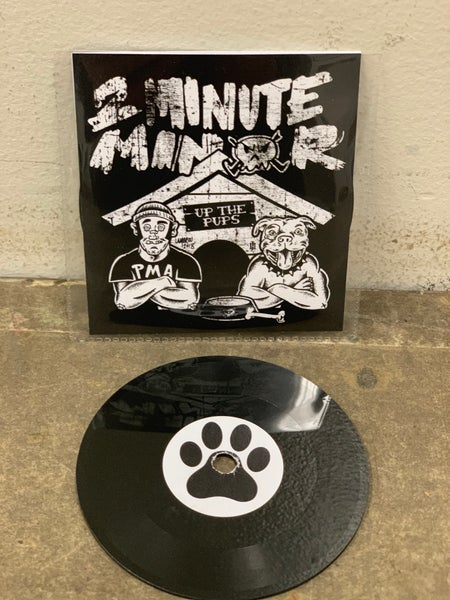 "Image of SOLD OUT Up The Pups, 2Minute Minor Single, 3"" Lathe Cut Record"