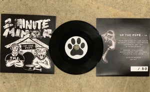 """Image of SOLD OUT Up The Pups, 2Minute Minor Single, 3"""" Lathe Cut Record"""