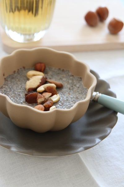Image of Mardi : chia pudding aux dattes