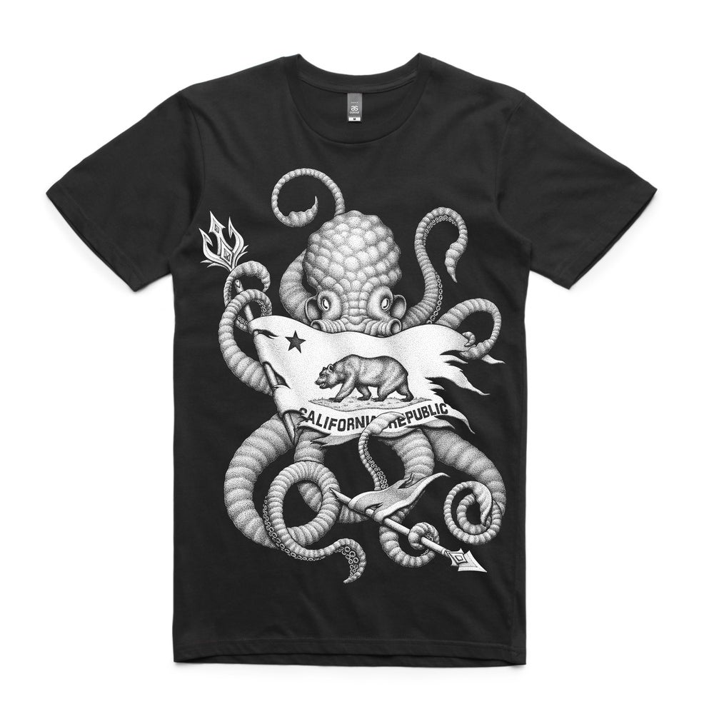 Image of Octo Republic Black Tee