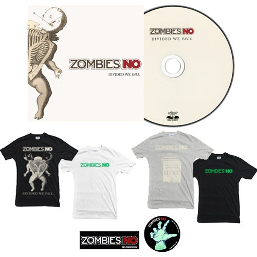 Image of Combo: CD +  1 t-shirt + free stickers