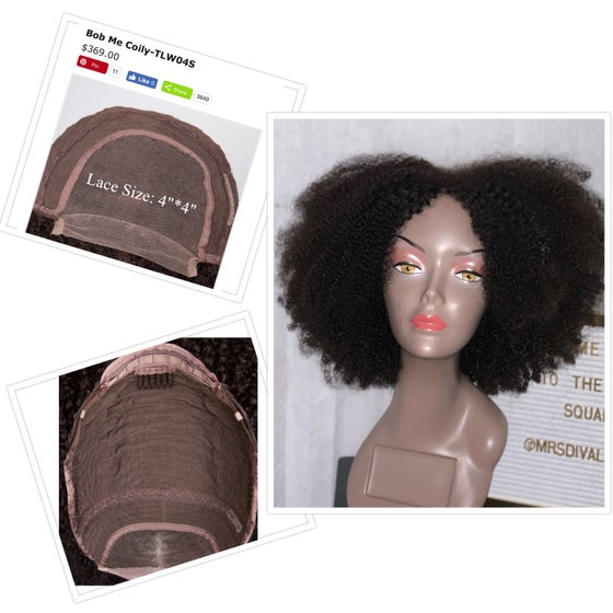 Image of Kinky curly bob