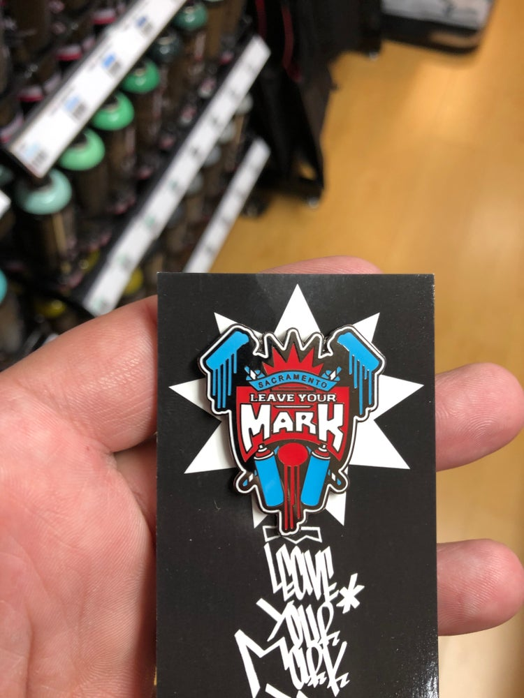 "Leave Your Mark ""King"" Enamel Pin"