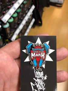 """Image of Leave Your Mark """"King"""" Enamel Pin"""