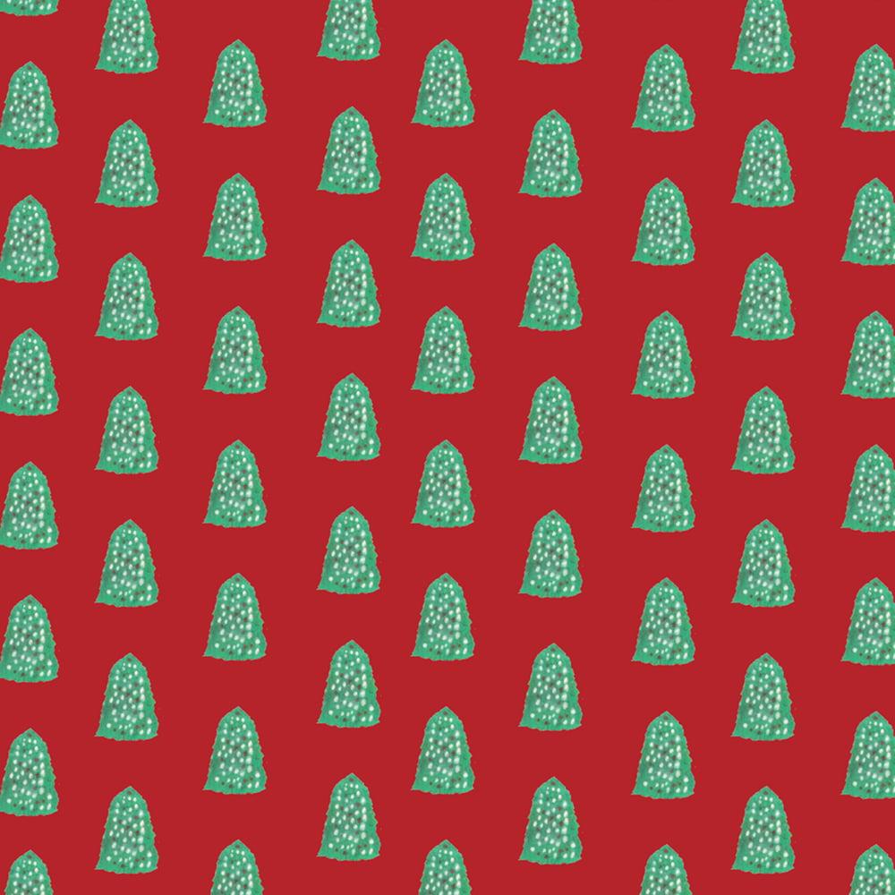 Image of Christmas Tree wrapping sheet set