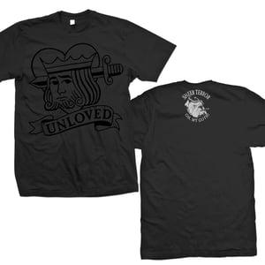 "Image of SHEER TERROR ""Black On Black OMG! Valentine's Day"" T-Shirt"