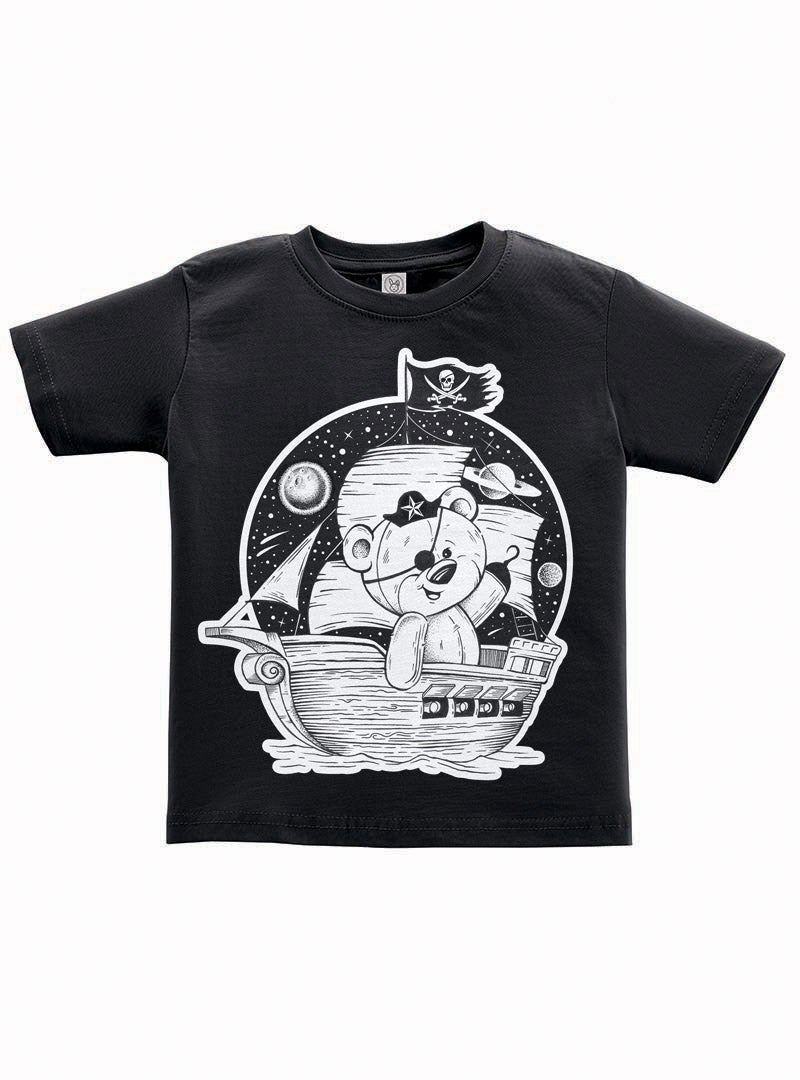 Image of Pirate Teddy Toddler Tee