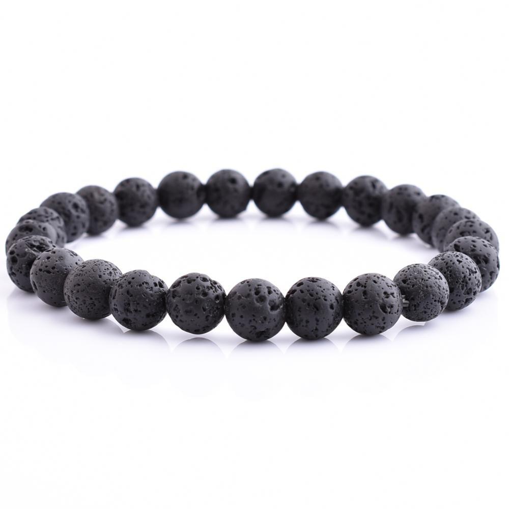 Image of lava bead bracelet