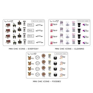 Image of Mini Chic Icons - Credit Card Sized