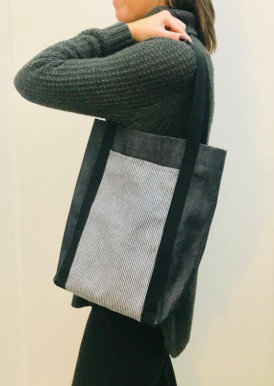 Image of Tote Bag with Pockets