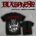 Blasphemy limited to 50 numbered t-shirts !!only 5 left!!