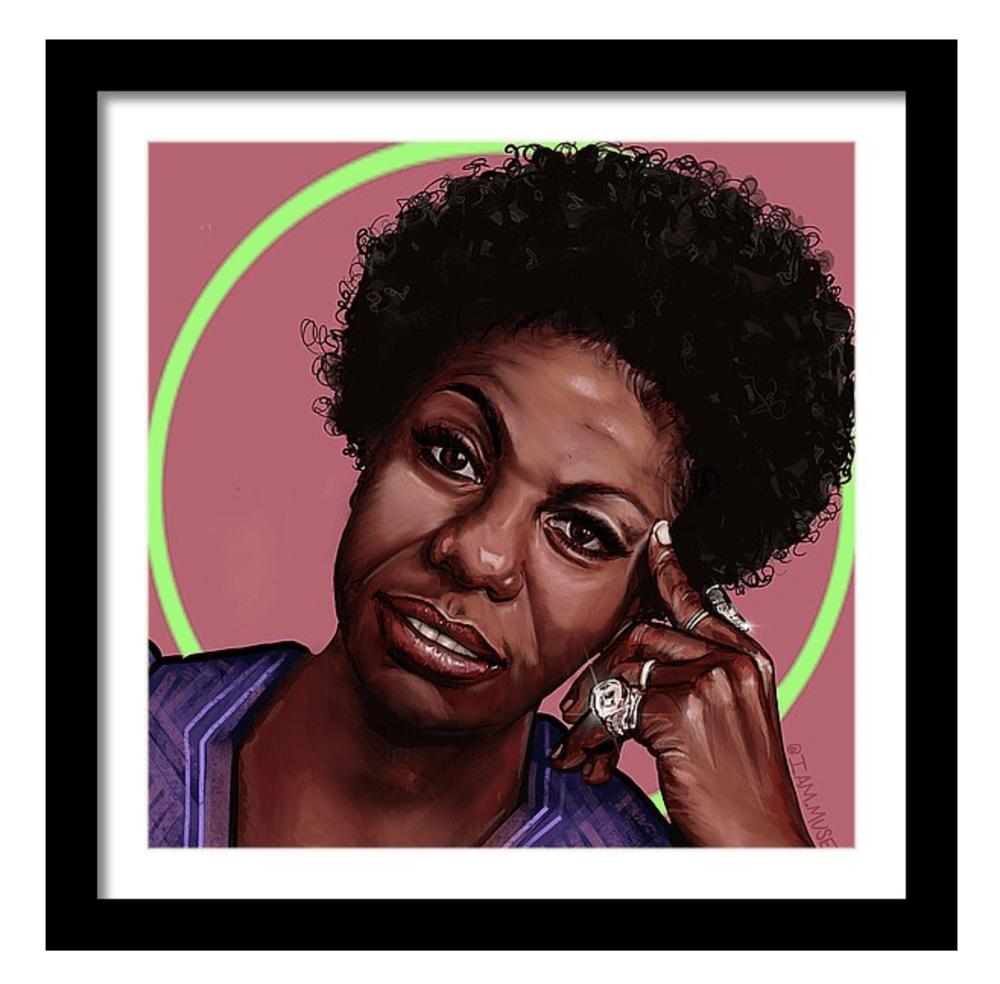 """Image of """"Nina Simone"""" Limited Edition Prints"""