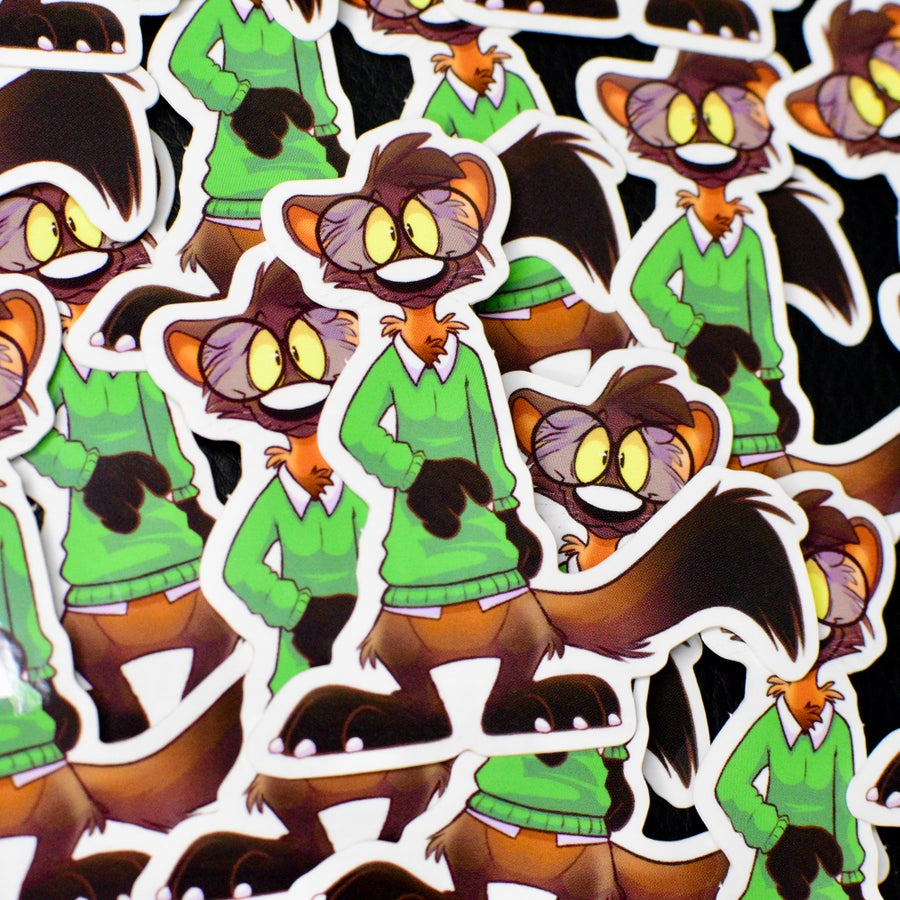 Image of Pine Marten sticker