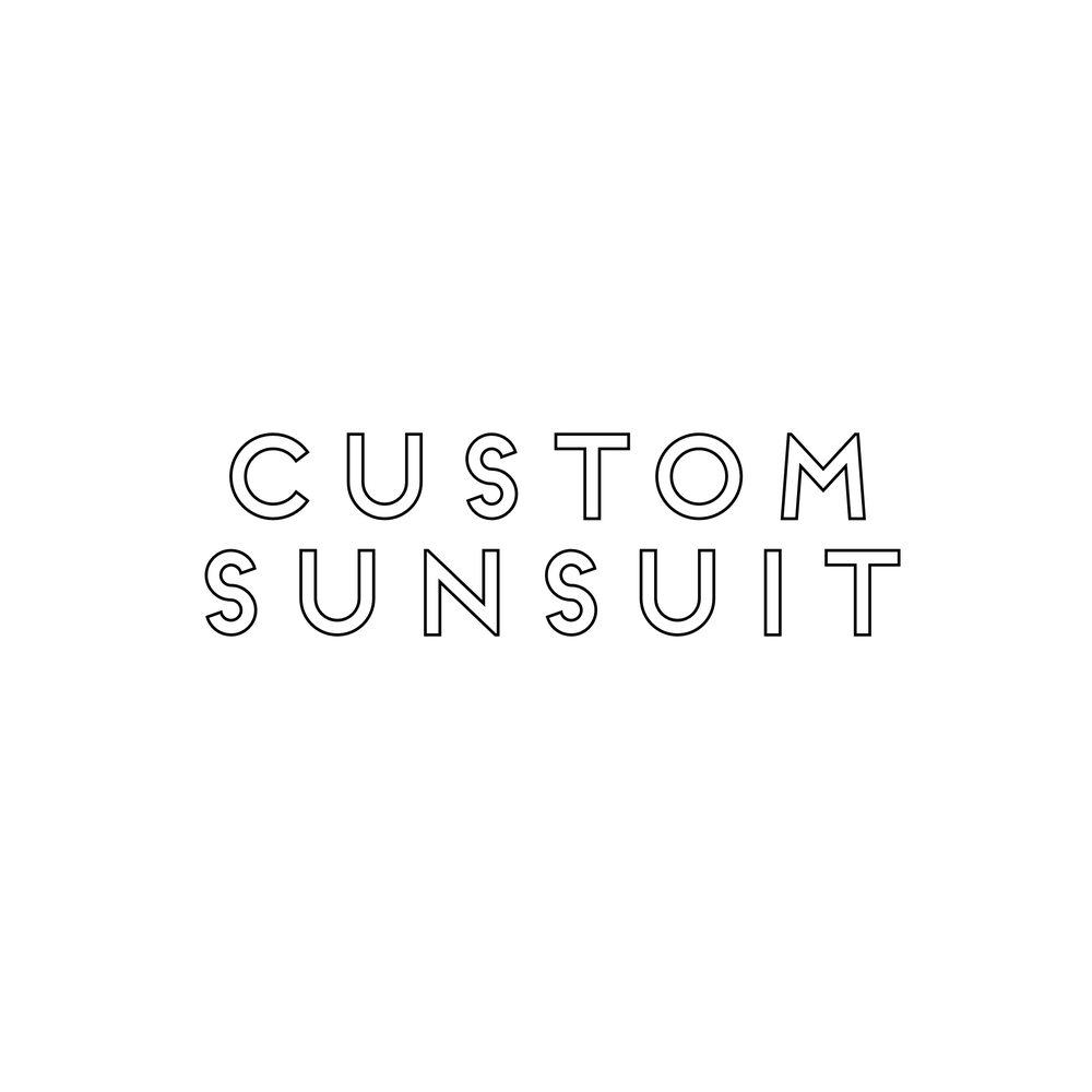Image of CUSTOM SUNSUIT