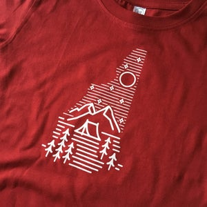 Image of Kids/Toddler Camping Logo T-shirt