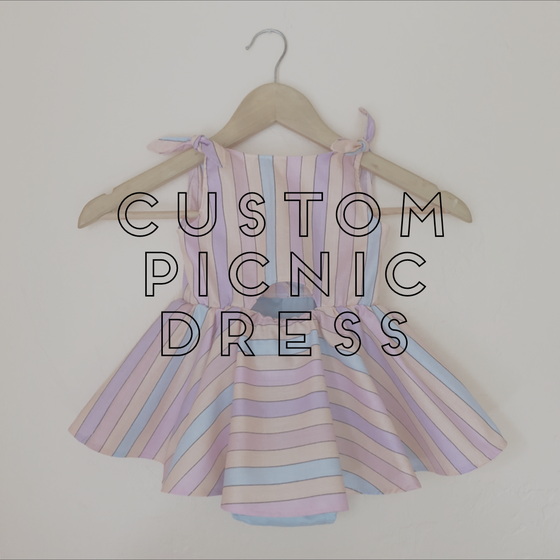 Image of CUSTOM PICNIC DRESS