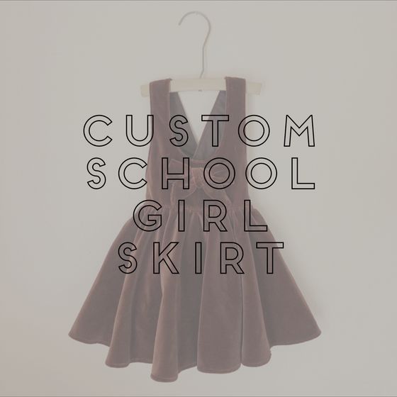 Image of CUSTOM SCHOOLGIRL SKIRT
