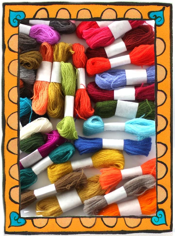 Image of OMG - I am Running Out of My 5 Favorite Crewel Wool Colors