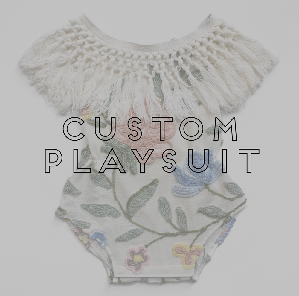 Image of CUSTOM PLAYSUIT