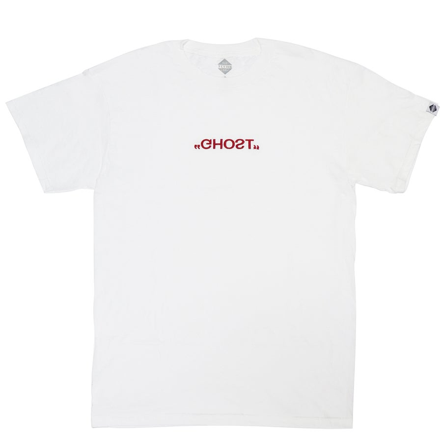 "Image of ""GHOST"" LOGO TEE WHITE (EXCLUSIVE CHINESE NEW YEAR'S EDITION)"