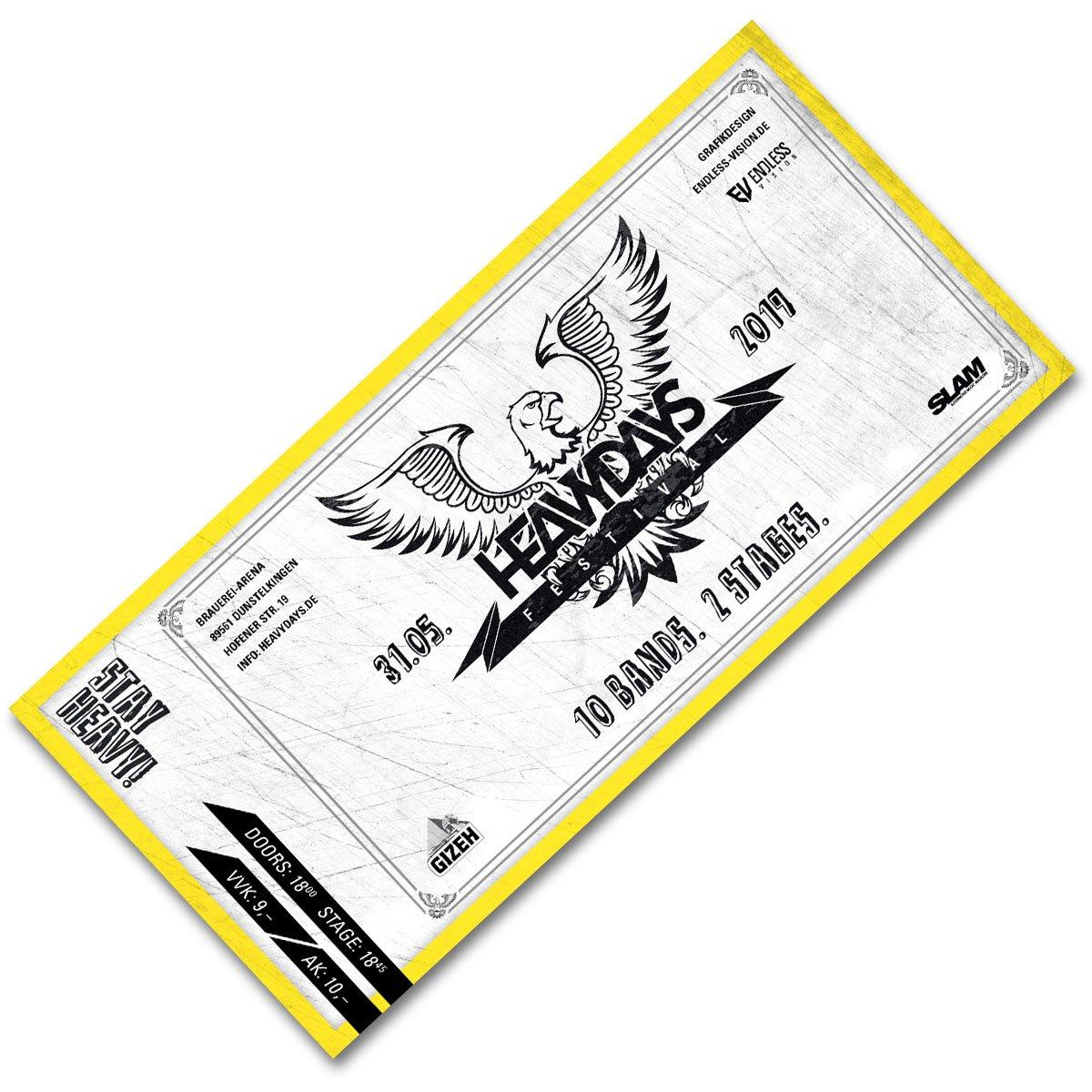 Image of Heavydays 2019 Ticket - Print@Home