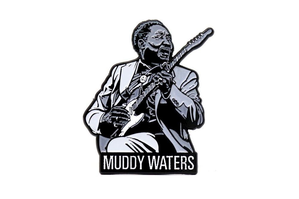Image of Muddy Waters Enamel Pin