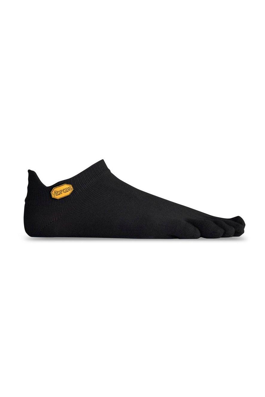 Image of Vibram Fivefingers Black No-Show Toe Socks