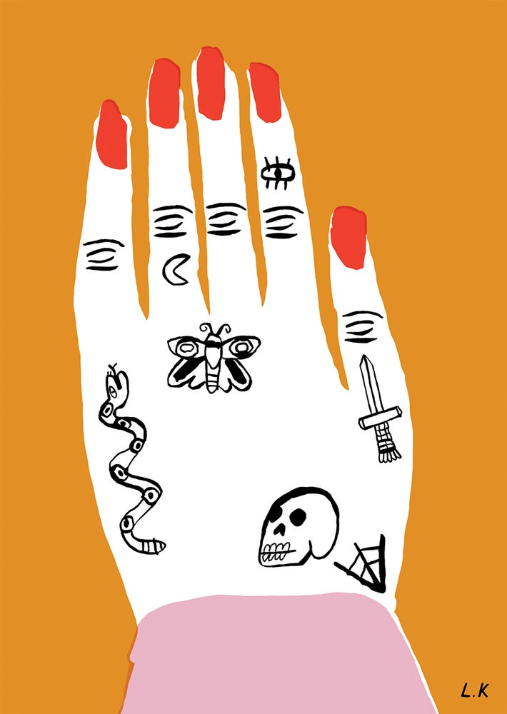 Image of Hand - A5 Print