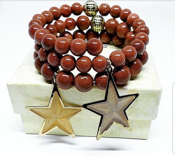 Image of Golden stars