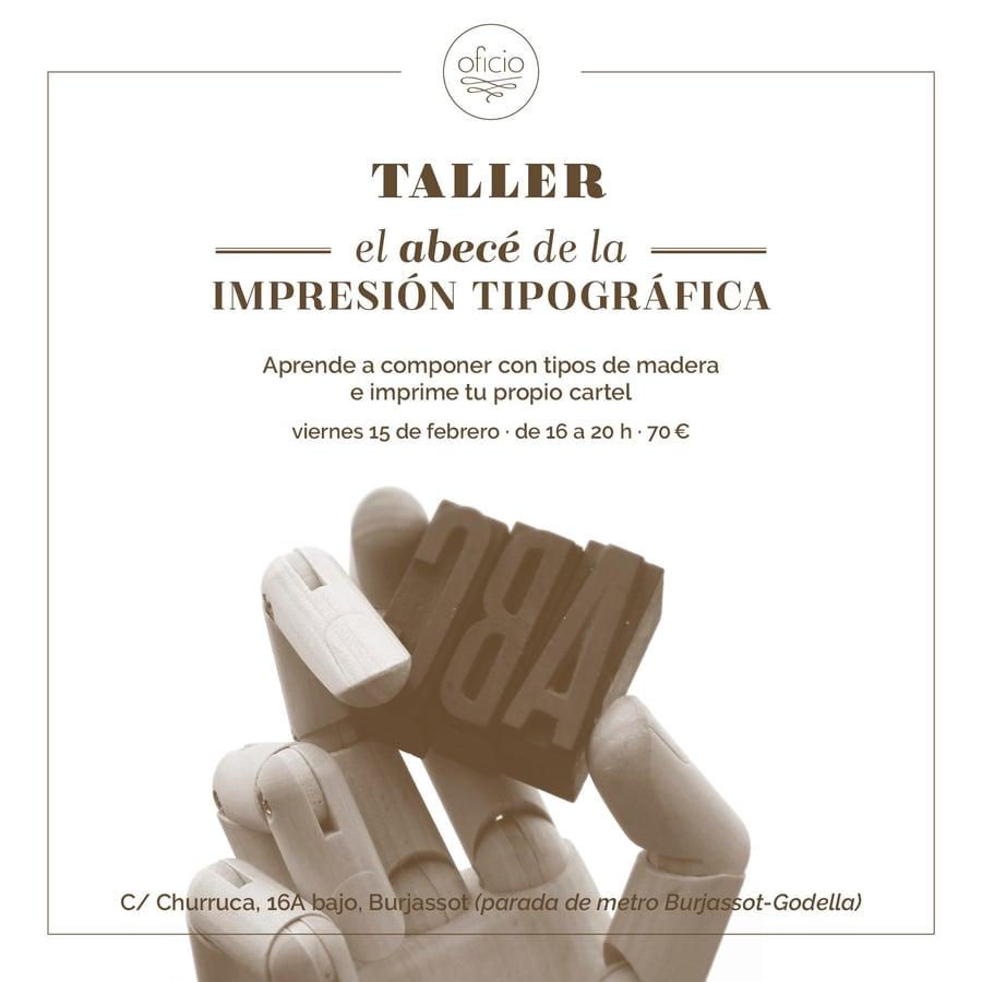 Image of Imprime con tipos de madera (15/02)