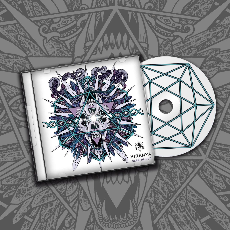 Image of Hiranya - Breathe Out (CD).
