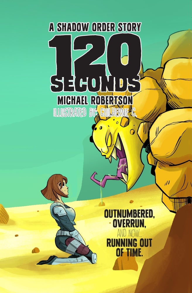 Image of 120 Seconds - A Shadow Order Novella - Illustrated Edition - Hardcover - 132 Pages.