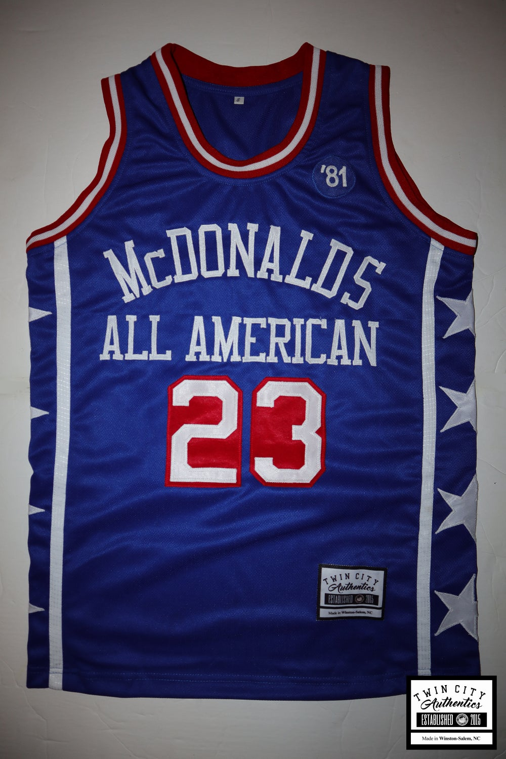 Image of Michael Jordan McDonalds All American b-ball