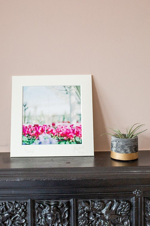 "Image of ""tulips"" small Fine Art print"