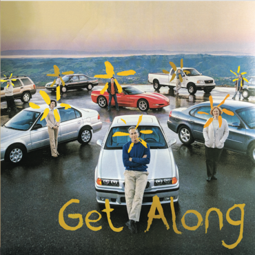"Image of Get Along 7"" vinyl"