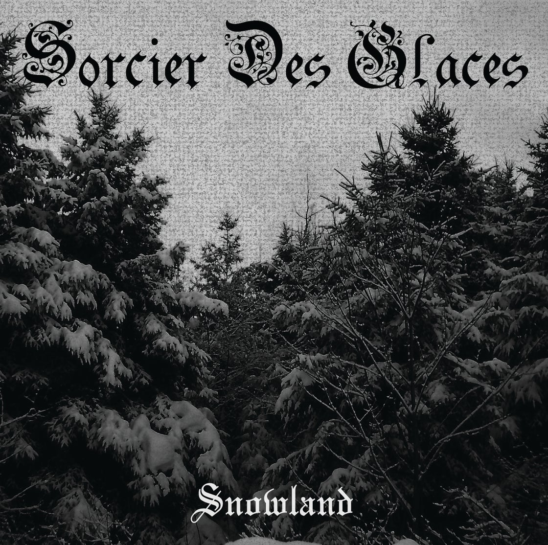 Image of Sorcier Des Glaces - Snowland CD jewel case & Digipak limited edition