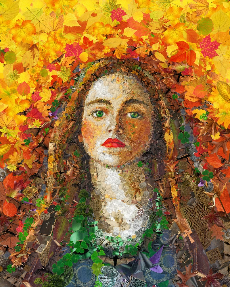 Image of Sophy Gray (Limited edition digital mosaic on paper)