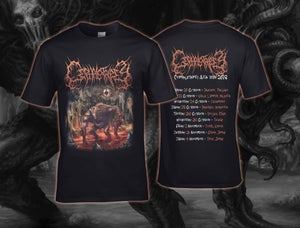 Image of Cephalotripsy Asia Tour 2018 shirt